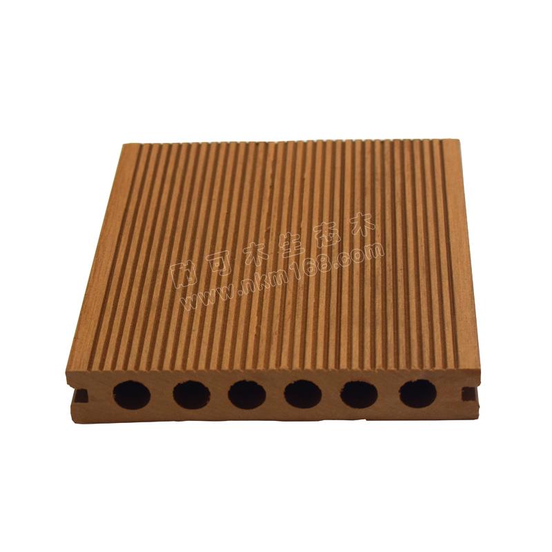 14025PE木塑圆孔地板